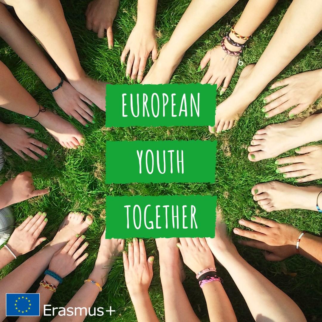 """Erasmus+ poziv """"Mladi Europe zajedno"""""""